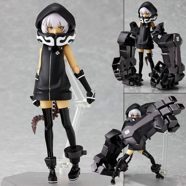 NEW Max Factory Figma SP-018 Black Rock Shooter Strength Pvc Action Figure