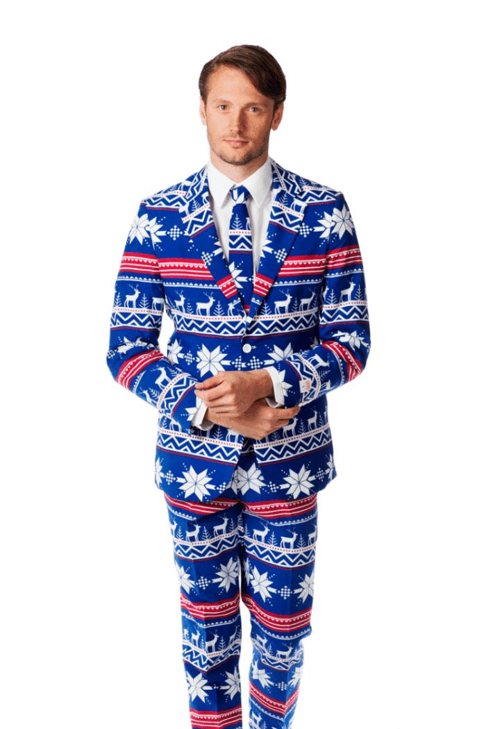 Ugly is In: Ugly Suits Inspired by Ugly Christmas Sweaters
