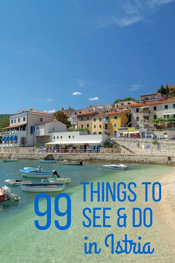 99 things to see and do in Istria | TotalCroatia