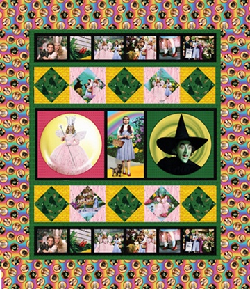 wizard of oz. I want a wizard of oz quilt, it's only my favorite movie in the entire world.