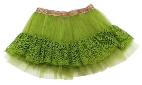 All Things Pretty Dress Me Up Skirt - Citrus, Girls Clothing