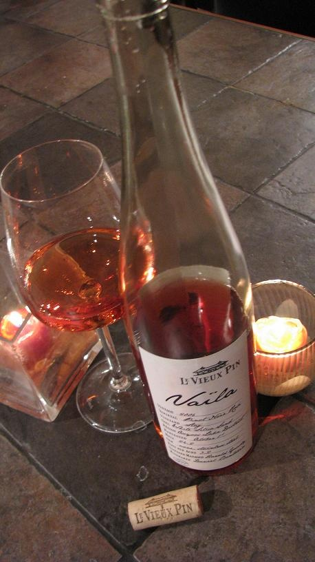 The only rose I drink...Vaila from Le Vieux Pin