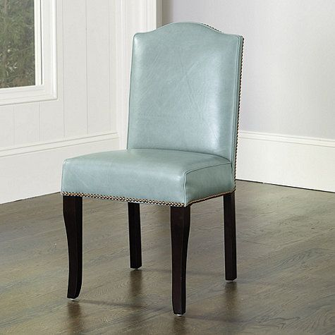 Kingsley Leather Dining Chairs - Set of 2