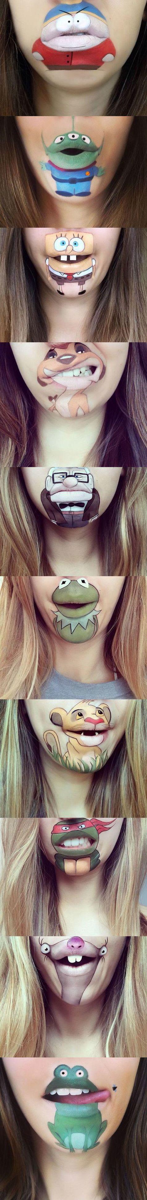 art, lips art