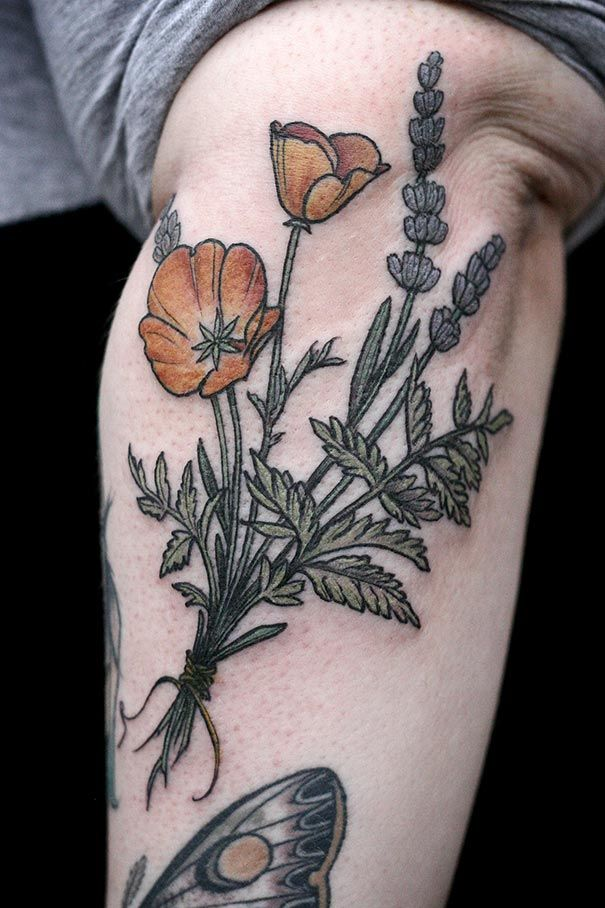 20 Botanical Tattoo Artists You Need To Follow For Your: 188 Best Images About Botanical Illustration Tat On