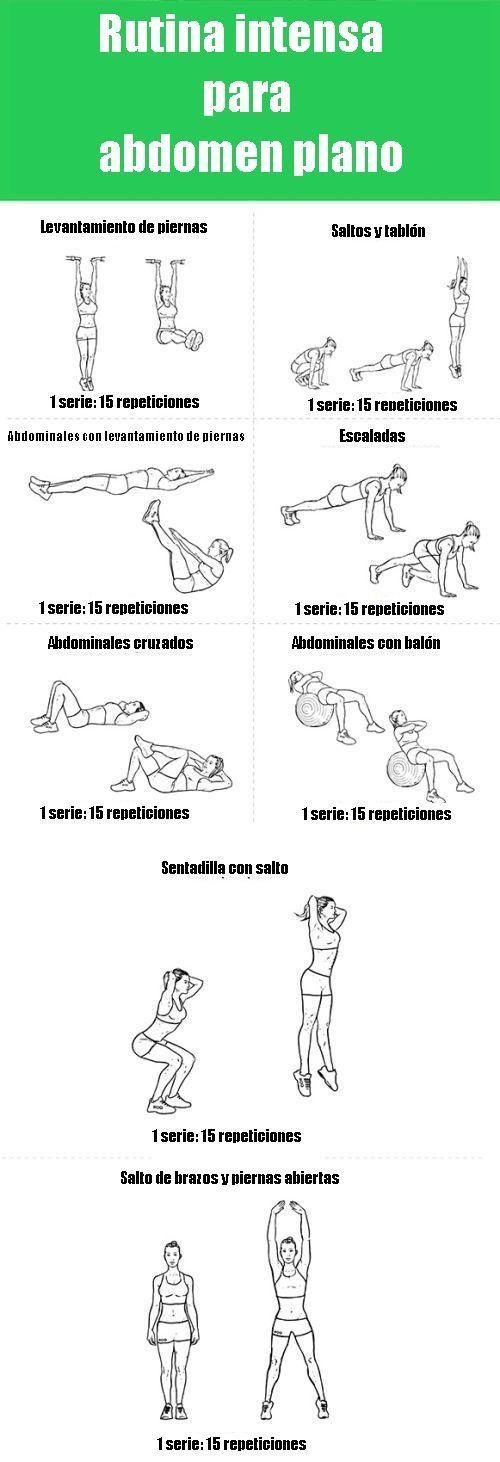 Tonifica tu abdomen con estos efectivos ejercicios. #EjerciciosParaAbdomen #AbdomenPlano #EjerciciosEnCasa #EjerciciosParaQuemarGrasa