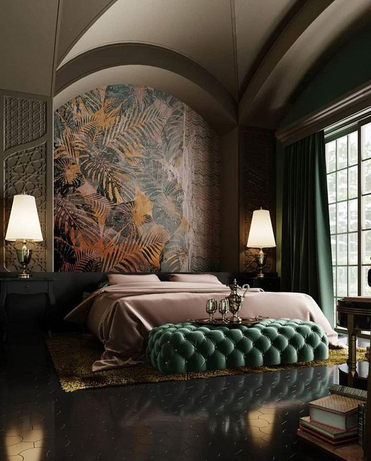 Elegant Emerald Tones Accentuates The Fine Finishings Of