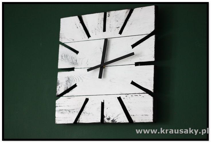 Zegar Strips Witamy na stronie firmy Krausaky! Zegar Strips. Ten wspaniały zegar to nie tylko czasomierz - to również doskonała ozdoba i dekoracja na ścian , meble i dekoracje z drewna, z desek, shabby, vintage, rustykalne, loft, industrial, rustic
