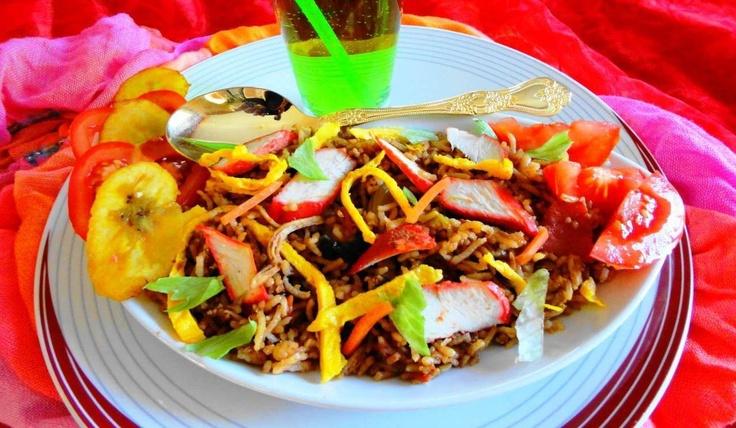 Nasi Char Siu (nasi met speciaal geroosterd varkensvlees)