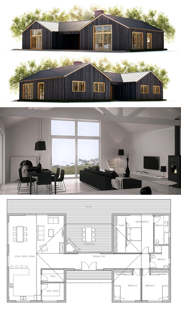 Container Home Design Based On A 6 Container 40ft Compartmentalized House With An Outstanding