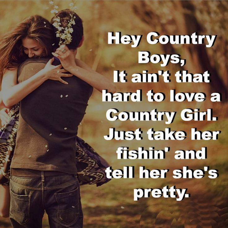 City girl dating country boy