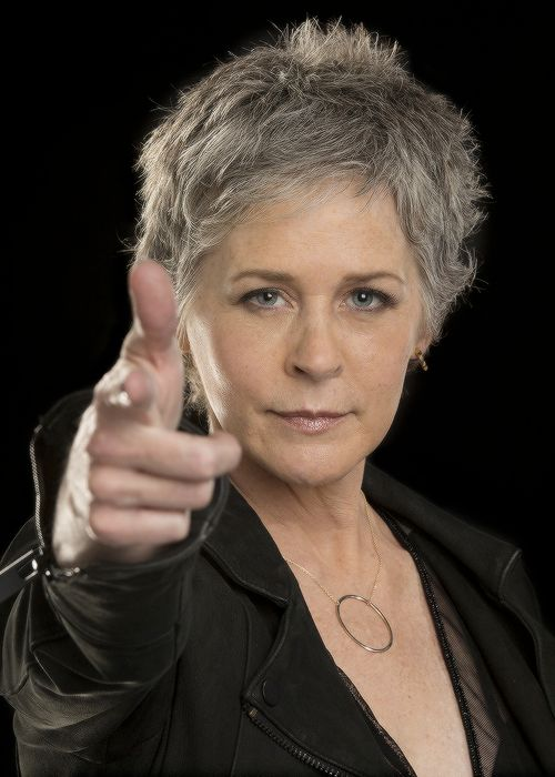 Melissa McBride photographed for LA Times