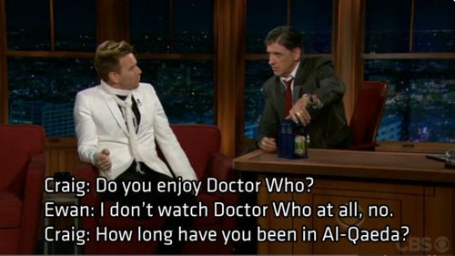 LOL.Thoughts,  Xylophone, Craig Ferguson, Fans, Doctorwho, Doctors Who, Movie Stars, Dr. Who, Ewan Mcgregor