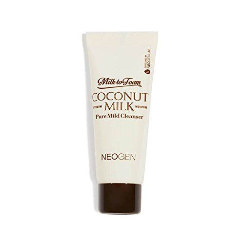 Milk-to-Foam #Coconut #Milk #Pure #Mild #Cleanser 25ml/.84oz #travel #size It works for all skin types, so you and your BFFs can share when they sleep over. As if we need more reasons to heart #coconut oil, in #cleanser form it softens, brightens, and hydrates skin.  https://skincare.boutiquecloset.com/product/milk-to-foam-coconut-milk-pure-mild-cleanser-25ml-84oz-travel-size/