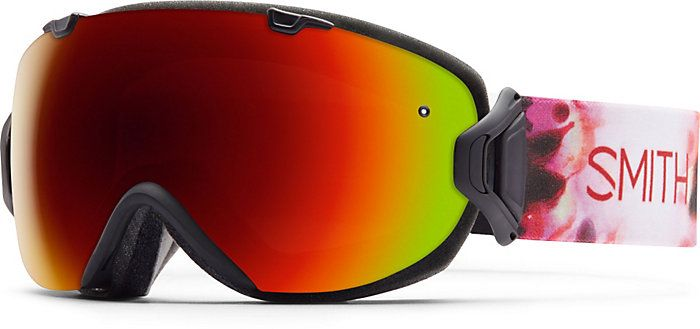 Smith I/OS Goggle w/Red Sol-X Mirror Lens - Women's Ski and Snowboard Goggles - Winter 2015/2016 - Christy Sports