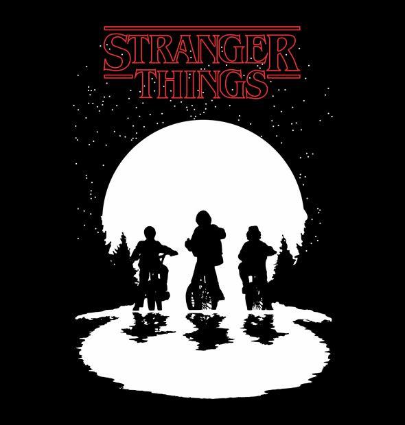 Camiseta Stranger Things - Véi Nerd