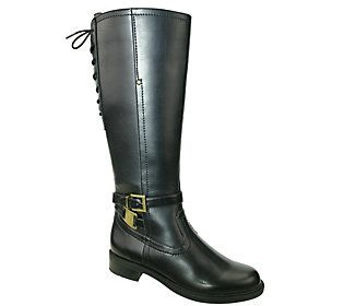 David Tate Wide Calf Tall Riding Boots - Valley18