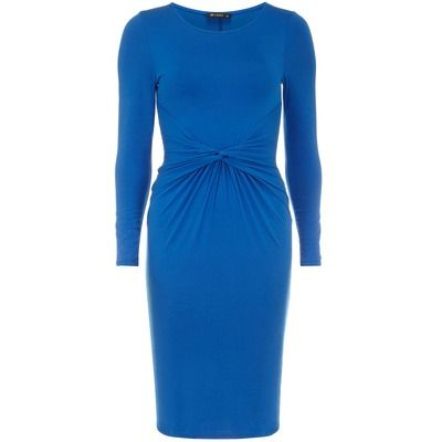 Dorothy Perkins Rise Blue Twist Dress