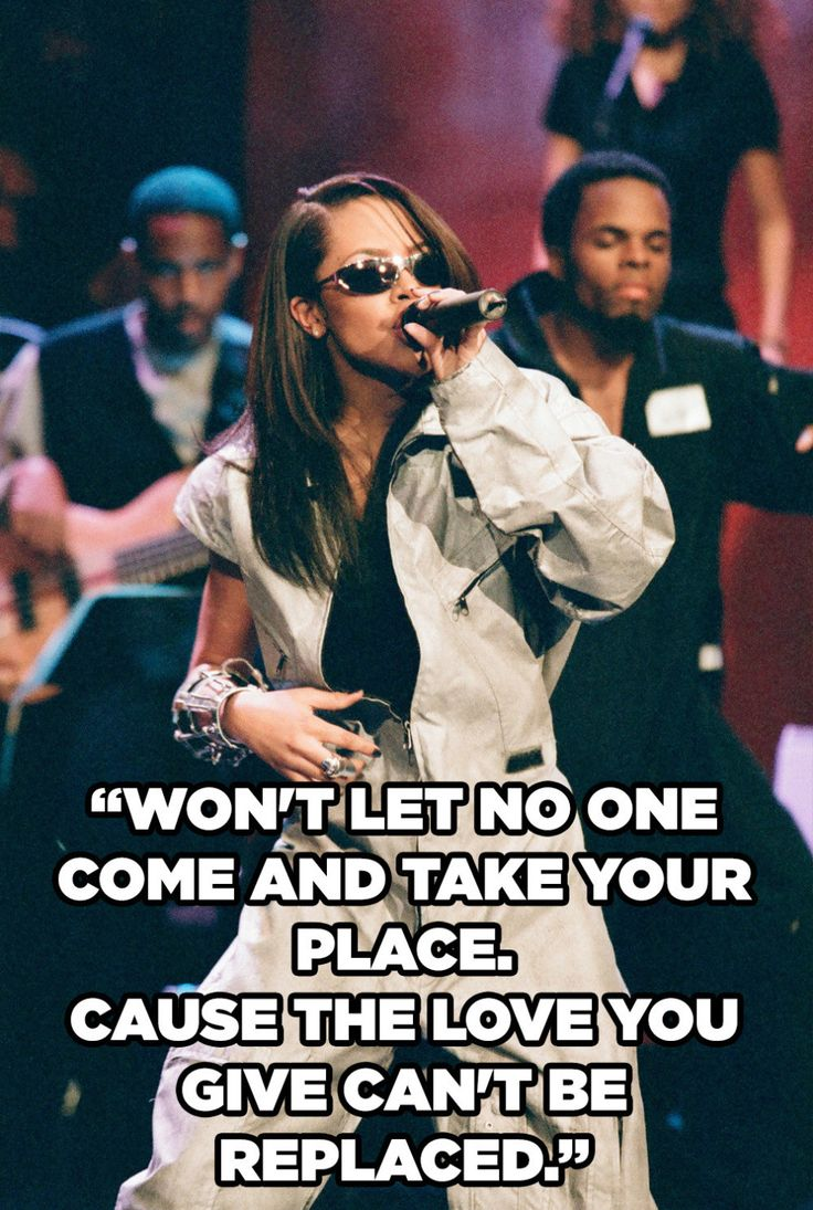 12 Aaliyah Lyrics To Get You Through Your Love Life