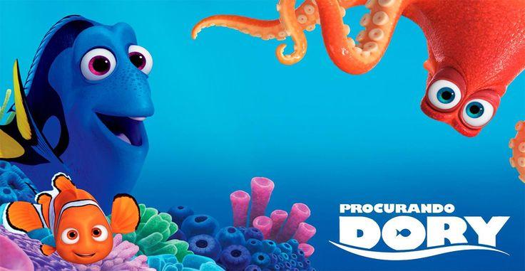 Dory, a peixinha mais querida de todos os tempos, estará de volta às telas do cinema na quinta-feira, 30, mas hoje ela já tem um encontro marcado com você.  Caso ela não se esqueça.