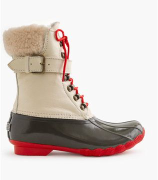 Boot The Year Sperry For J Crew 2015 Sperry Topsider