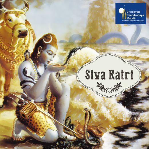 Shiva (Lord Shiva) + ratri (night), so Shivaratri means the night of #LordShiva. Devotees of Krishna view Lord Shiva as the greatest Vaishnava. Therefore, Vaishnavas celebrate by seeking Lord Shiva's blessings and worship him.