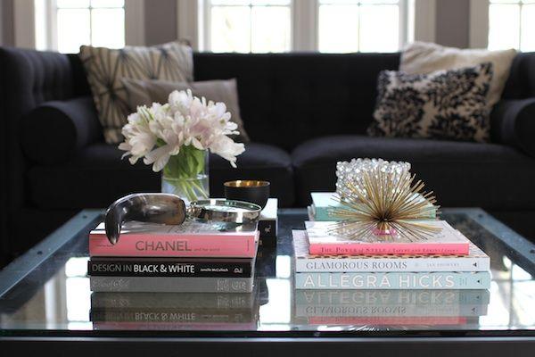 Coffee Table + Books