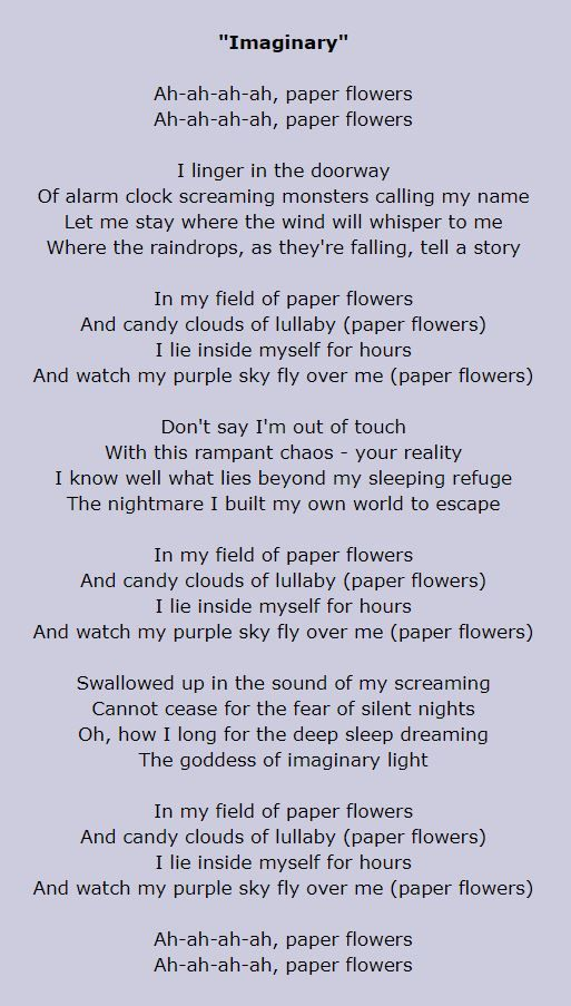 Evanescence imaginary lyrics music bands singers lyrics evanescence imaginary lyrics music bands singers lyrics pinterest evanescence mightylinksfo