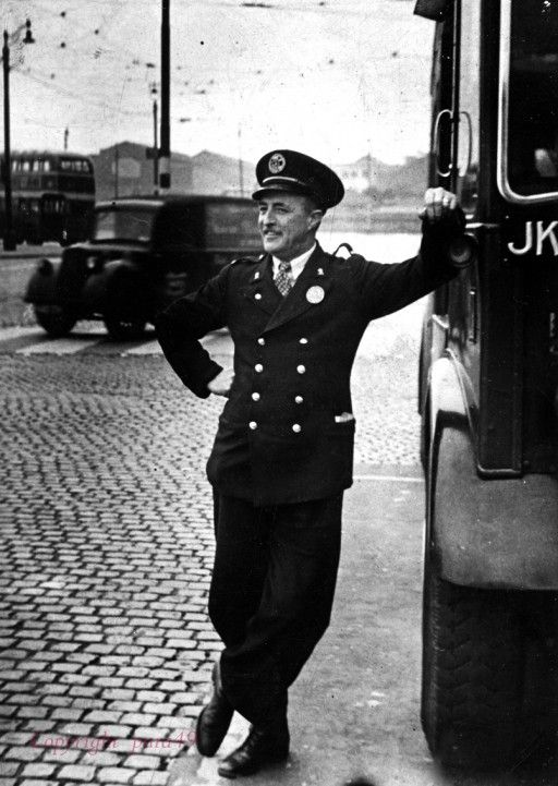 On The Buses 1950s Bus Driver Liverpool Life Bus Stop