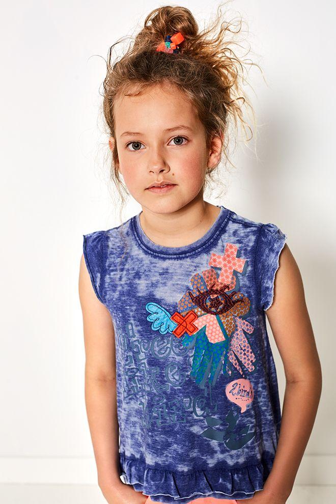 High Summer - Girls   Photography   Inspired   Fashion   Blue   Top   Bird   Print   Summer Collection