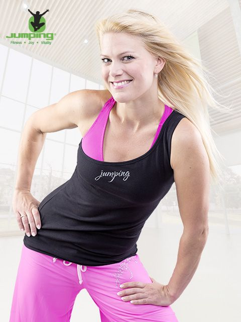 Jumping Fitness own brand of clothes.