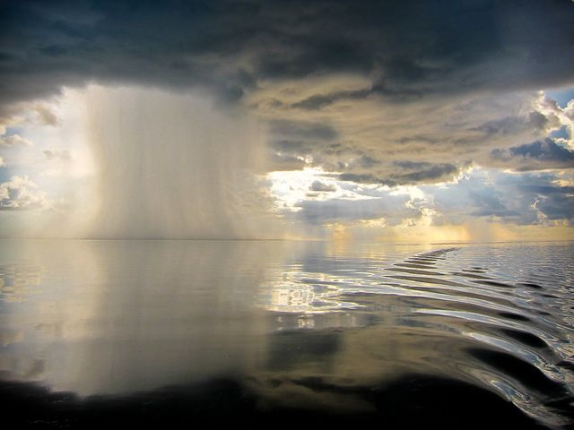 Micro Storm, just offshore of Marathon, Florida Keys (by cepalm)
