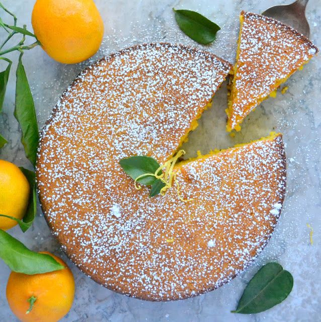 Flourless Whole Tangerine Cake (gluten free) - The View from Great Island