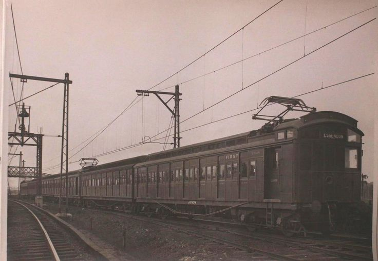 The Electrification of Melbourne's Suburban Railway Network. In 1919 the first Suburban Electric Train Services started in Melbourne.