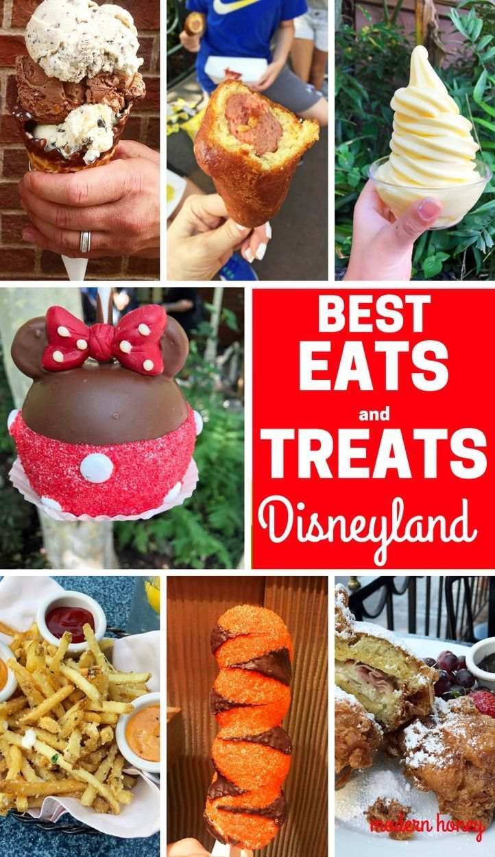 The Best Eats And Treats At Disneyland The Best Food To Eat At Disneyland A List Of The Most Popular A Best Disneyland Food Disneyland Food Disneyland Treats