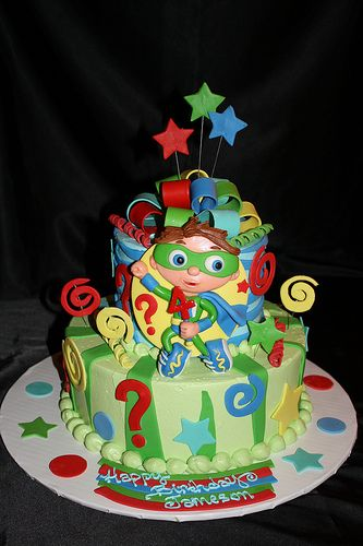 Cake Design Hialeah : Super why cake, Super why and Cakes on Pinterest