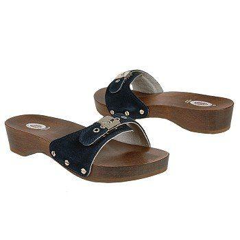 Original Dr. Scholl's sandals.  I had a navy pair