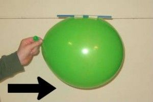 Kid's Science Experiment – Make a Balloon that Flies like a Rocket
