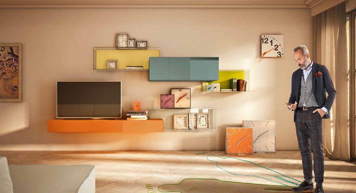 #déguisementbusinessman  Le système modulaire 36e8 offre aux utilisateurs la possibilité de concevoir en toute liberté. Il est possible de meubler un mur par la création de géométries insolites, et par les innombrables opportunités de rangement disponibles, toujours design.  #lago #design #compo36e8 #interior #meubletv #géometries #création #storage #flexibilité #modularité