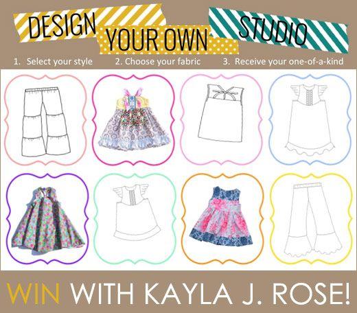 Kayla J. Rose Handmade Girls Clothing, Dresses