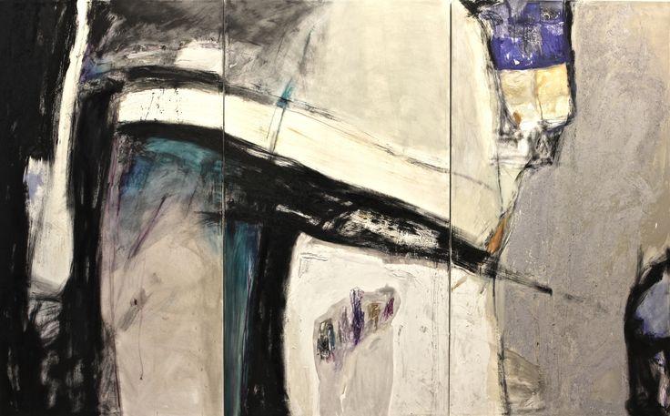 Remember (trittico) 2012 - olio su tela - cm 240 x 150