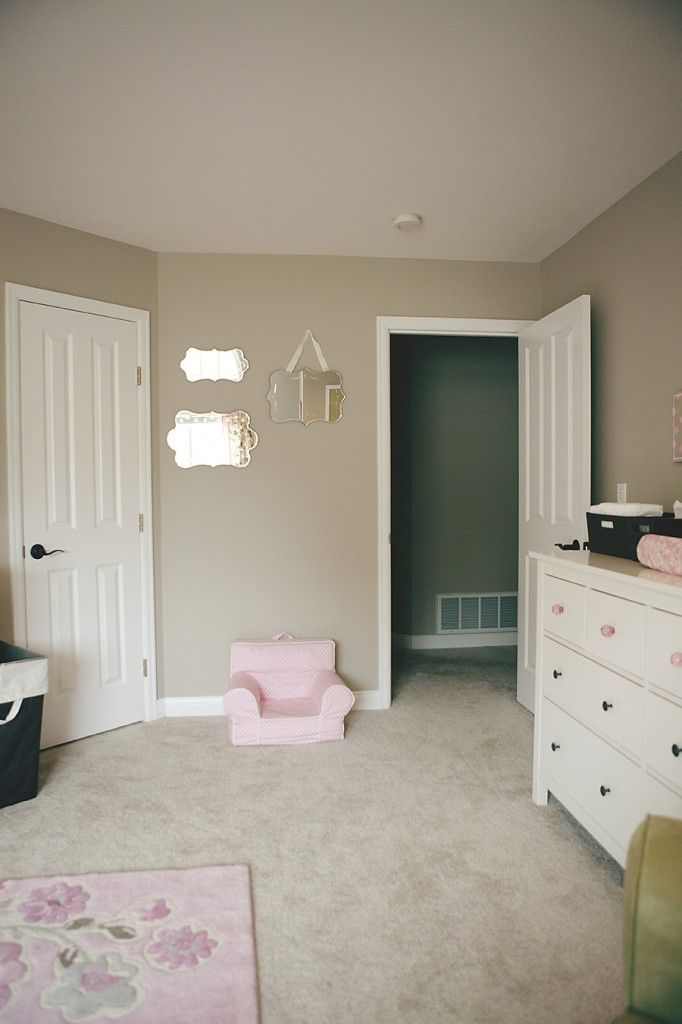 17 best decor images on pinterest vintage decorations - Cuarto de bebe nina ...