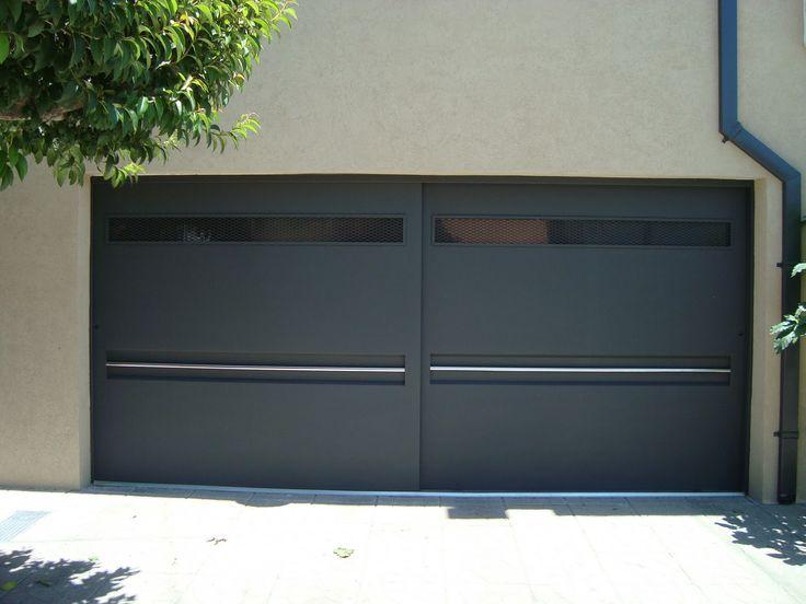 Porton 1 bodegas industriales pinterest garaje for Portones de entrada principal