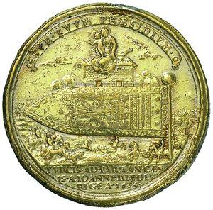 Artemide Aste - Asta XXVI: 1265 - Innocenzo XI (1676-1689) Medaglia 1684 per la bandiera turca donata alla S. Casa di Loreto - Dea Moneta