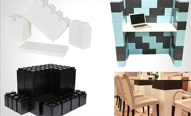 EverBlock'un Kocaman LEGO Parçaları ile Duvar Bile Örebilirsiniz