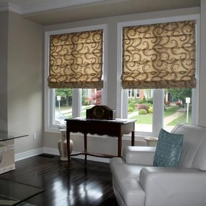 Seamed Roman Shades Budgetblinds