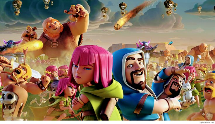 Clash of clans music with video clip clash of clans
