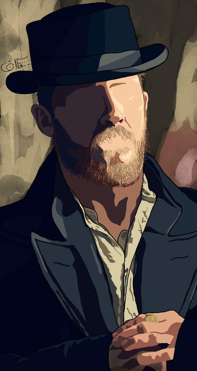 Alfie Solomons (Tom Hardy) - Peaky Blinders by fabconbian