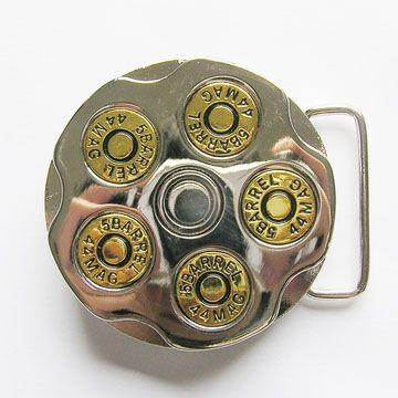 Bullets Spinner belt buckle (bb185)