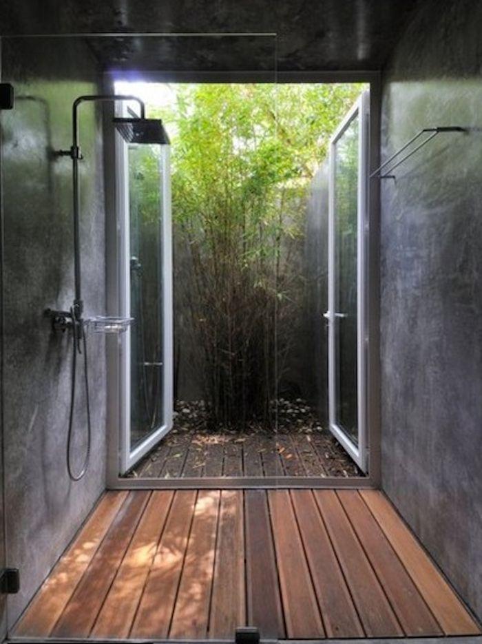 Shower designed by FV Arquitectos, Remodelista